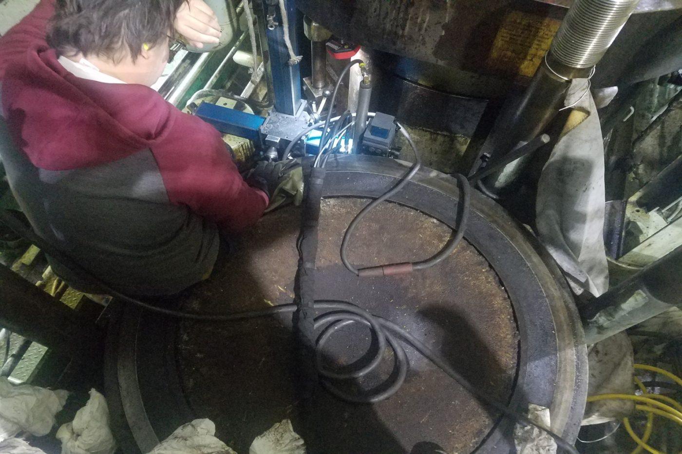 overview of broken stud repair