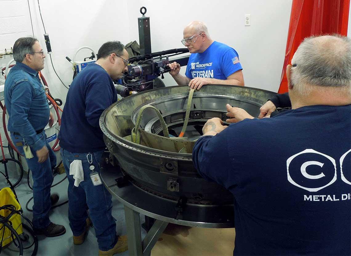 Cammann C-25 metal disintegration training